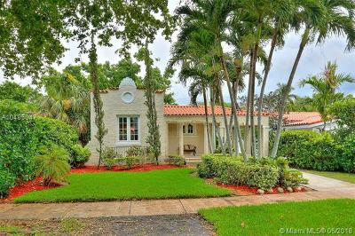 Coral Gables Single Family Home For Sale: 1257 Medina Ave