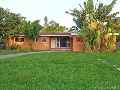 South Miami Single Family Home For Sale: 6380 SW 63rd Ave