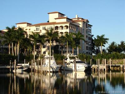 Coral Gables Condo/Townhouse For Sale: 13641 Deering Bay Dr #128