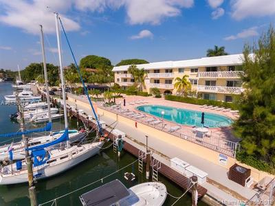 Coral Gables Condo/Townhouse For Sale: 100 Edgewater Dr #114