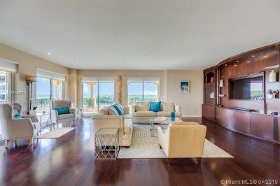 Coral Gables Condo/Townhouse For Sale: 13635 Deering Bay Dr #264