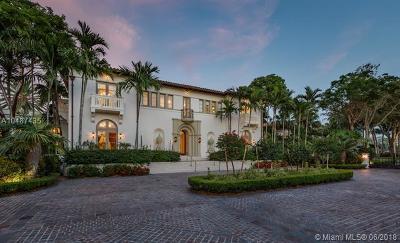 Coral Gables Single Family Home For Sale: 8901 Arvida Ln