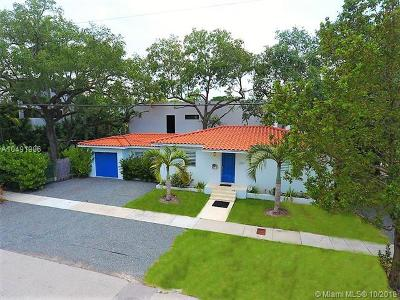 Coconut Grove Single Family Home For Sale: 2301 Trapp Ave