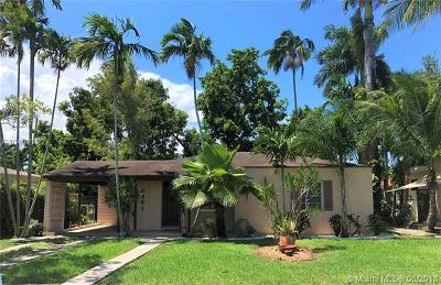South Miami Single Family Home For Sale: 6351 SW 42nd Ter