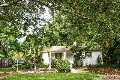 South Miami Single Family Home For Sale: 7711 SW 61st Ave