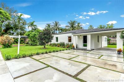 South Miami Single Family Home For Sale: 6366 SW 41st St