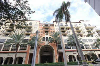 Coral Gables Condo/Townhouse For Sale: 55 Merrick Way #721