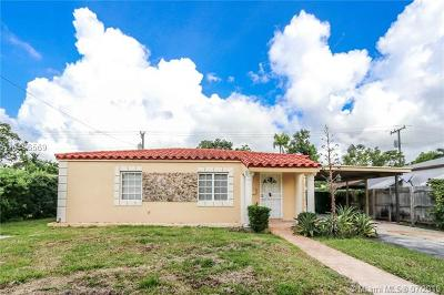 South Miami Single Family Home For Sale: 6420 SW 57th Pl