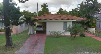 Coral Gables Single Family Home For Sale: 1221 La Mancha Ave