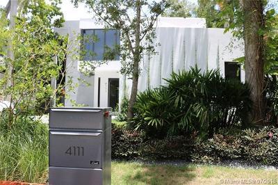 Coconut Grove Single Family Home For Sale: 4120 Bonita Ave