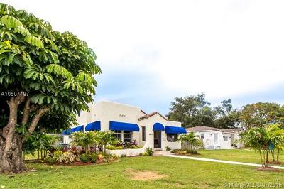 South Miami Single Family Home For Sale: 5875 SW 42nd Ter