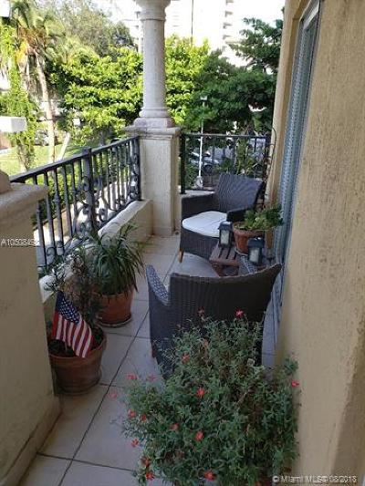 Coral Gables Condo/Townhouse For Sale: 20 Ave Calabria #202