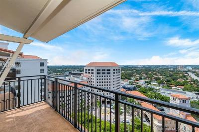 Coral Gables Condo/Townhouse For Sale: 888 S Douglas Rd #PH07
