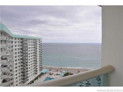Condo/Townhouse For Sale: 3801 S Ocean Dr #PH16W