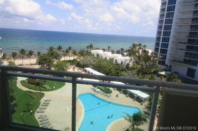Condo/Townhouse For Sale: 3001 S Ocean Dr #821