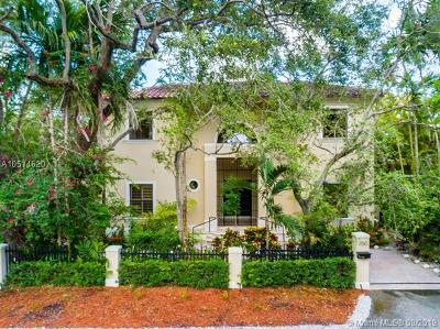 Coral Gables Single Family Home For Sale: 150 W Sunrise Ave.