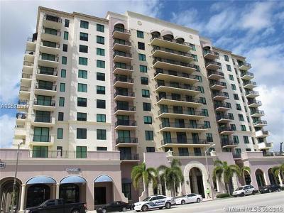 Coral Gables Condo/Townhouse For Sale: 1300 Ponce De Leon Blvd #801