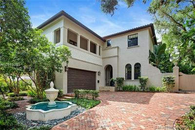 Coconut Grove Single Family Home For Sale: 1780 Espanola Dr