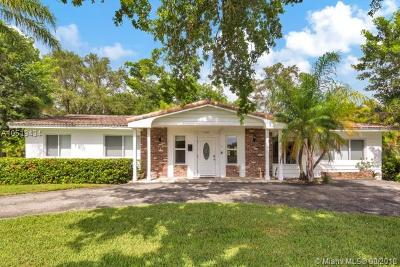 South Miami Single Family Home For Sale: 7380 SW 67th Ct