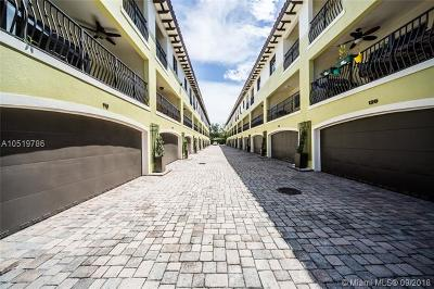 Coconut Grove Condo/Townhouse For Sale: 3204 Bird Ave #117