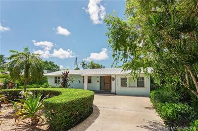 South Miami Single Family Home For Sale: 6530 SW 75th Ter