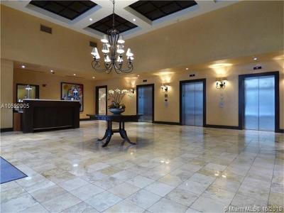 Coral Gables Condo/Townhouse For Sale: 10 Aragon Ave #908