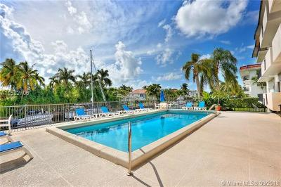 Coral Gables Condo/Townhouse For Sale: 6815 Edgewater Dr #102