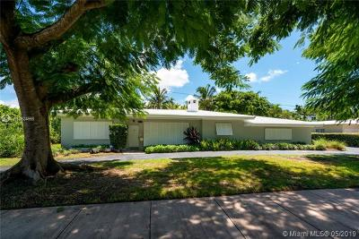 Coral Gables Single Family Home For Sale: 6815 Maynada St