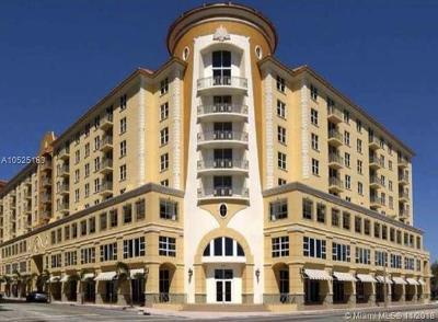 Coral Gables Condo/Townhouse For Sale: 2030 S Douglas Rd #610