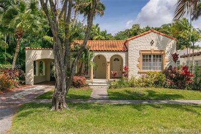 Coral Gables Single Family Home For Sale: 525 Giralda Ave