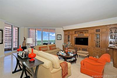 Coral Gables Condo/Townhouse For Sale: 60 Edgewater Dr #11F