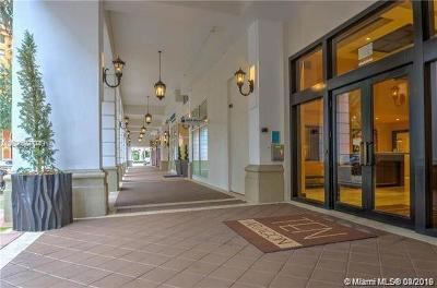 Coral Gables Condo/Townhouse For Sale: 10 Aragon Ave #801