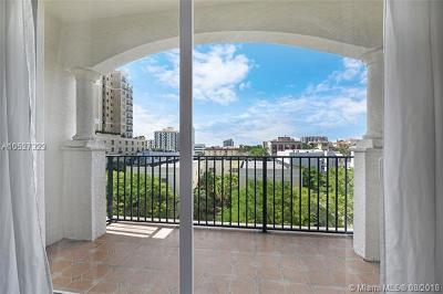 Coral Gables Condo/Townhouse For Sale: 118 Zamora Ave #505
