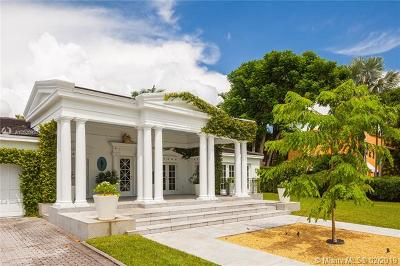 Coral Gables Single Family Home For Sale: 757 N Greenway Dr