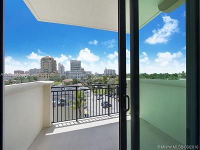 Coral Gables Condo/Townhouse For Sale: 1300 Ponce De Leon Blvd #409
