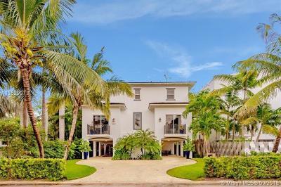 Coconut Grove Single Family Home For Sale: 3541 E Glencoe St