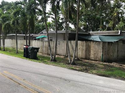 South Miami Single Family Home For Sale: 6380 SW 69th St
