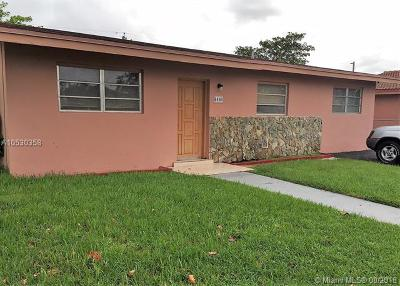 South Miami Single Family Home For Sale: 6460 SW 42nd St