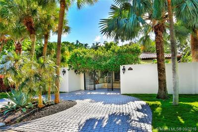 Coconut Grove Single Family Home For Sale: 3730 Solana Rd