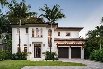 Coconut Grove Single Family Home For Sale: 4150 Hardie Ave