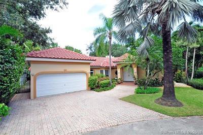 Coconut Grove Single Family Home For Sale: 3893 Park Av