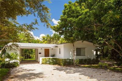 South Miami Single Family Home For Sale: 7661 SW 65th Pl