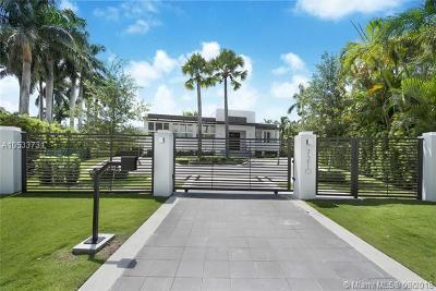 Coral Gables Single Family Home For Sale: 7210 E Lago Dr