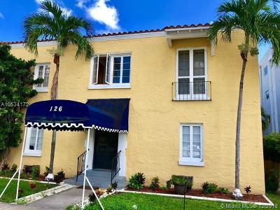 Coral Gables Condo/Townhouse For Sale: 126 Mendoza Ave #3