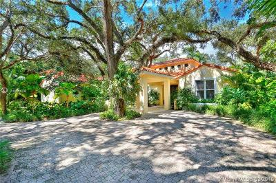 Coral Gables Single Family Home For Sale: 11015 Girasol Ave