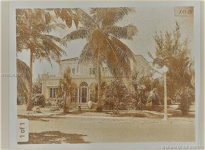 Coral Gables Single Family Home For Sale: 446 Alhambra Cir