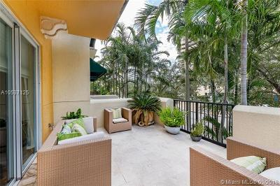 Coral Gables Condo/Townhouse For Sale: 642 Valencia Ave #207