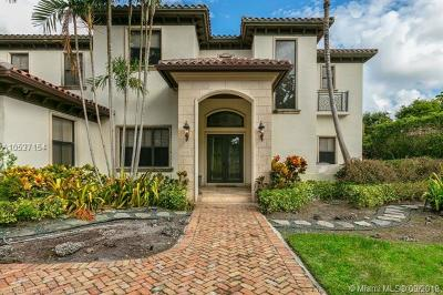 Coral Gables Single Family Home For Sale: 5321 Granada Blvd