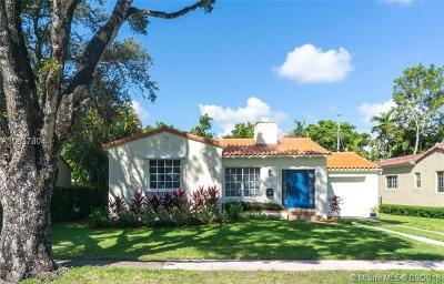 Coral Gables Single Family Home For Sale: 1318 El Rado St