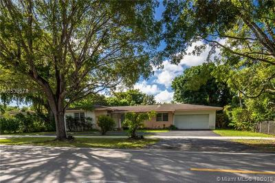 South Miami Single Family Home For Sale: 5750 SW 80th St